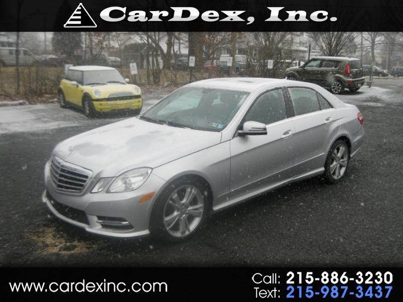 2013 Mercedes-Benz E-Class 4dr Sdn E 350 Sport 4MATIC *Ltd Avail*