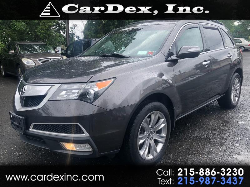 2012 Acura MDX AWD 4dr Advance Pkg