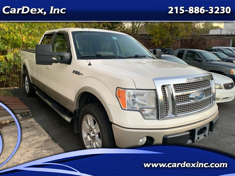 "2009 Ford F-150 4WD SuperCab 133"" Lariat"