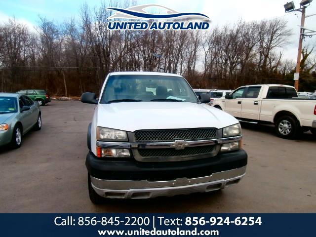 2004 Chevrolet Silverado 2500HD Work Truck Long Bed 2WD