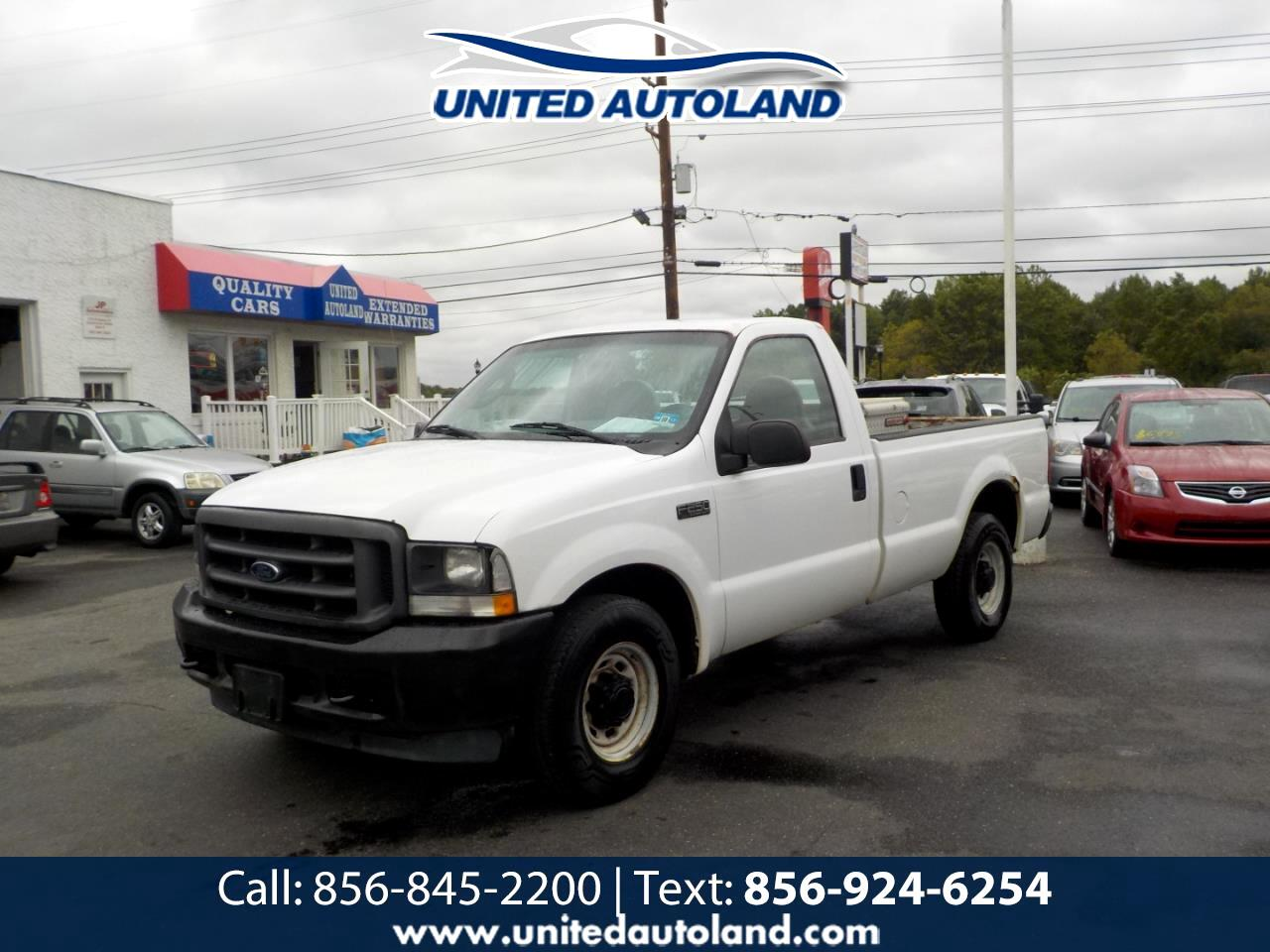 "2004 Ford Super Duty F-250 Reg Cab 137"" XLT"