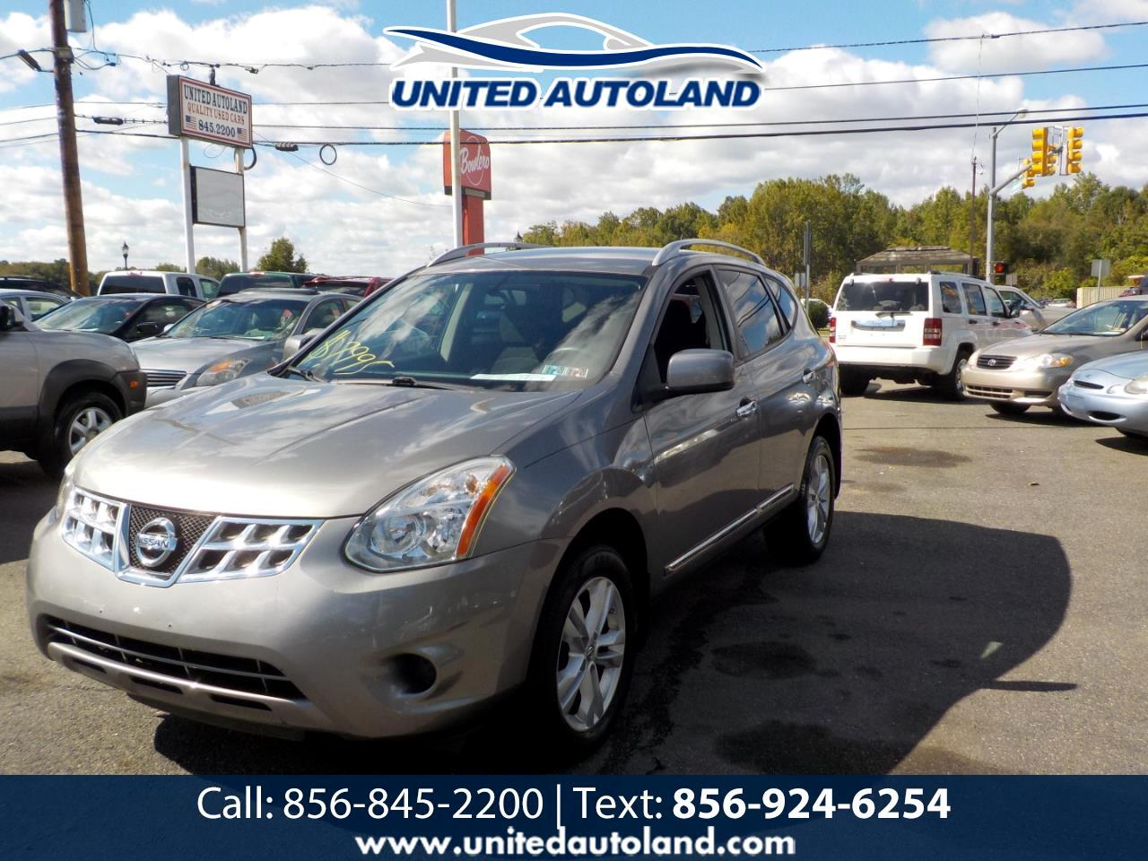 2012 Nissan Rogue AWD 4dr SV