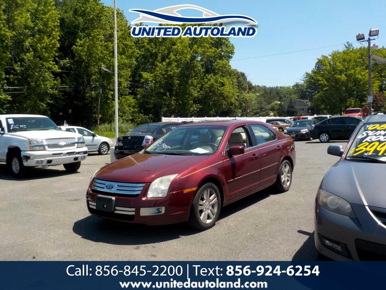Ford Fusion 4dr Sdn I4 SEL FWD 2007