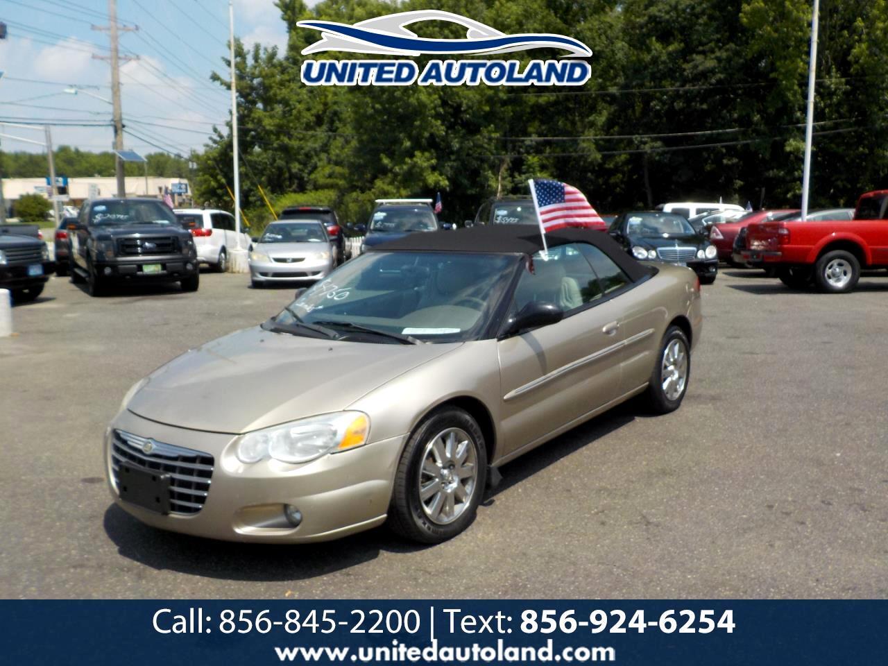 Chrysler Sebring 2004 2dr Convertible Limited 2004