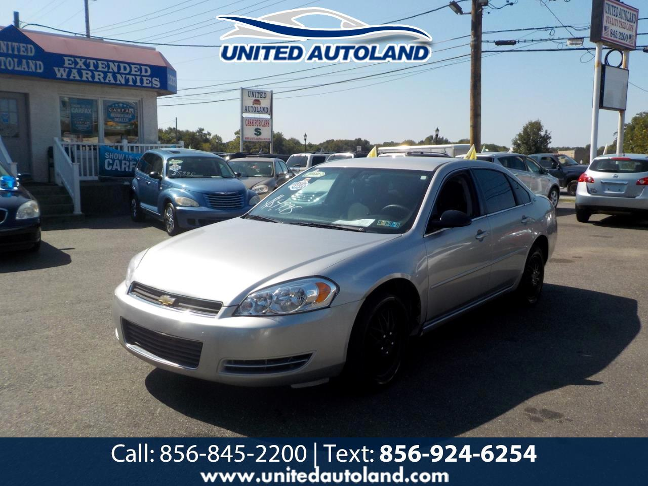 used 2007 chevrolet impala police pkg 4dr sdn unmarked police pkg 9c3 for sale in deptford nj 08096 united auto land united auto land