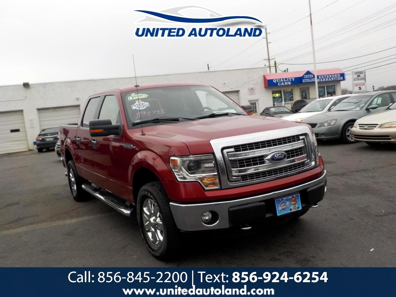 "Ford F-150 4WD SuperCrew 145"" Platinum 2014"
