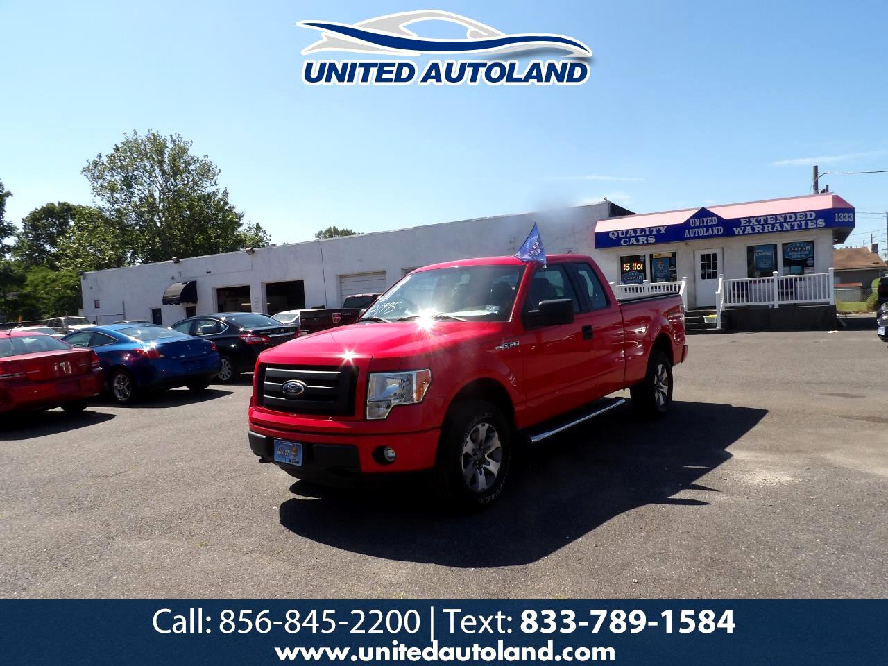 """Ford F-150 4WD SuperCab 145"""" Lariat 2012"""