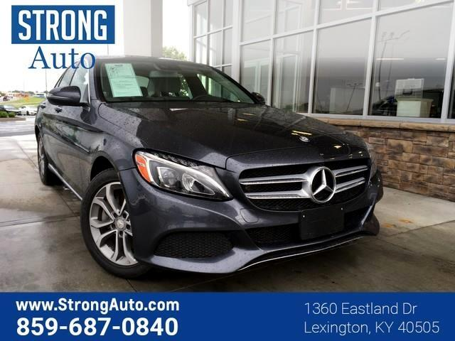 2016 Mercedes-Benz C-Class 4dr Sdn C 300 Luxury 4MATIC
