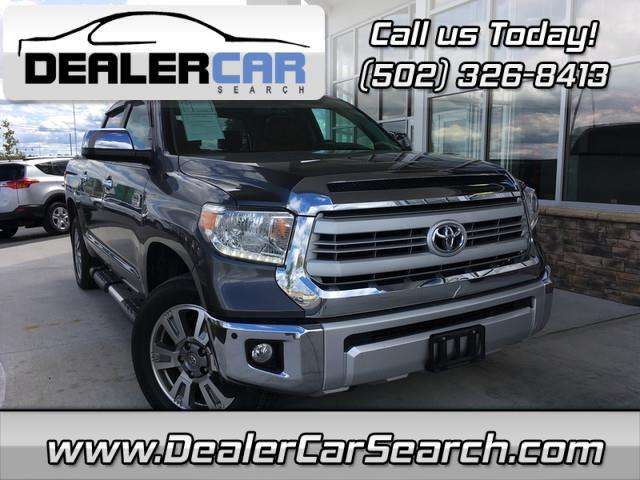2014 Toyota Tundra 4WD Truck CrewMax 5.7L V8 6-Spd AT (Natl)