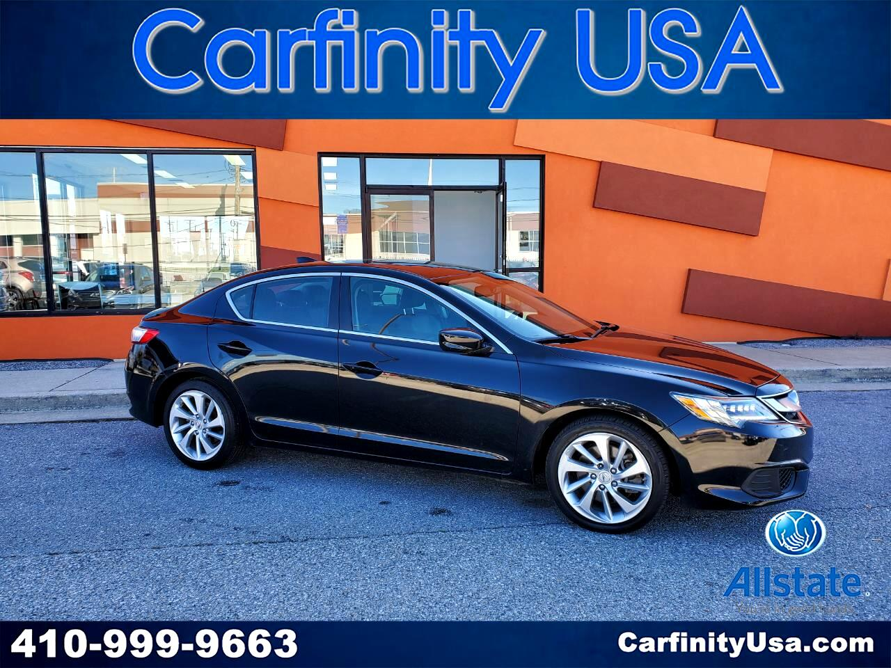 Acura ILX 4dr Sdn w/Technology Plus Pkg 2016