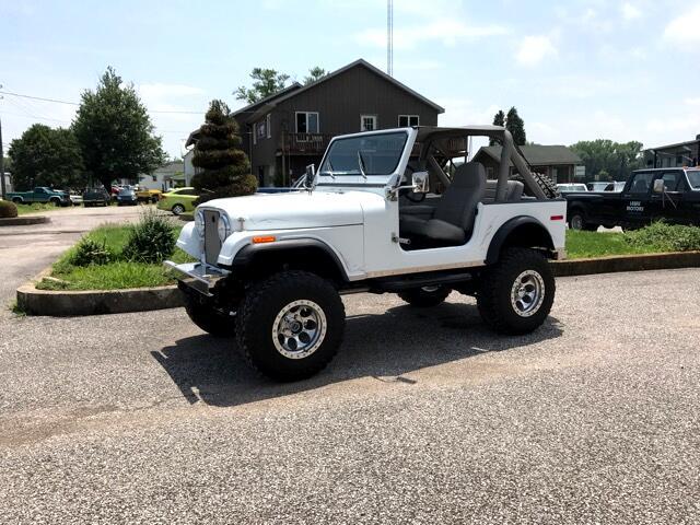 1980 Jeep CJ-7 4X4