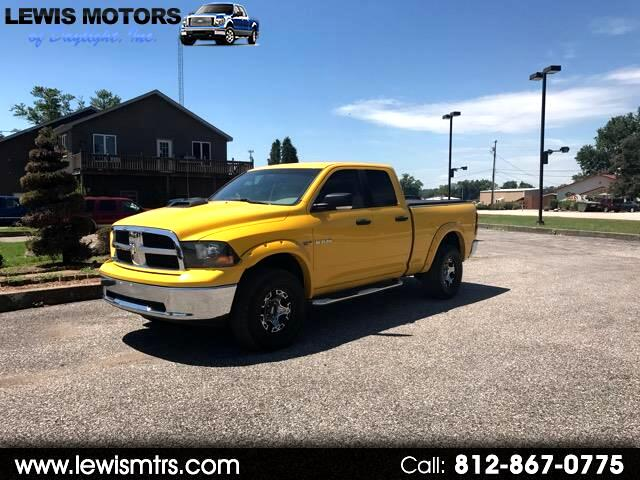 2009 Dodge Ram 1500 Laramie Quad Cab Short Bed 4WD