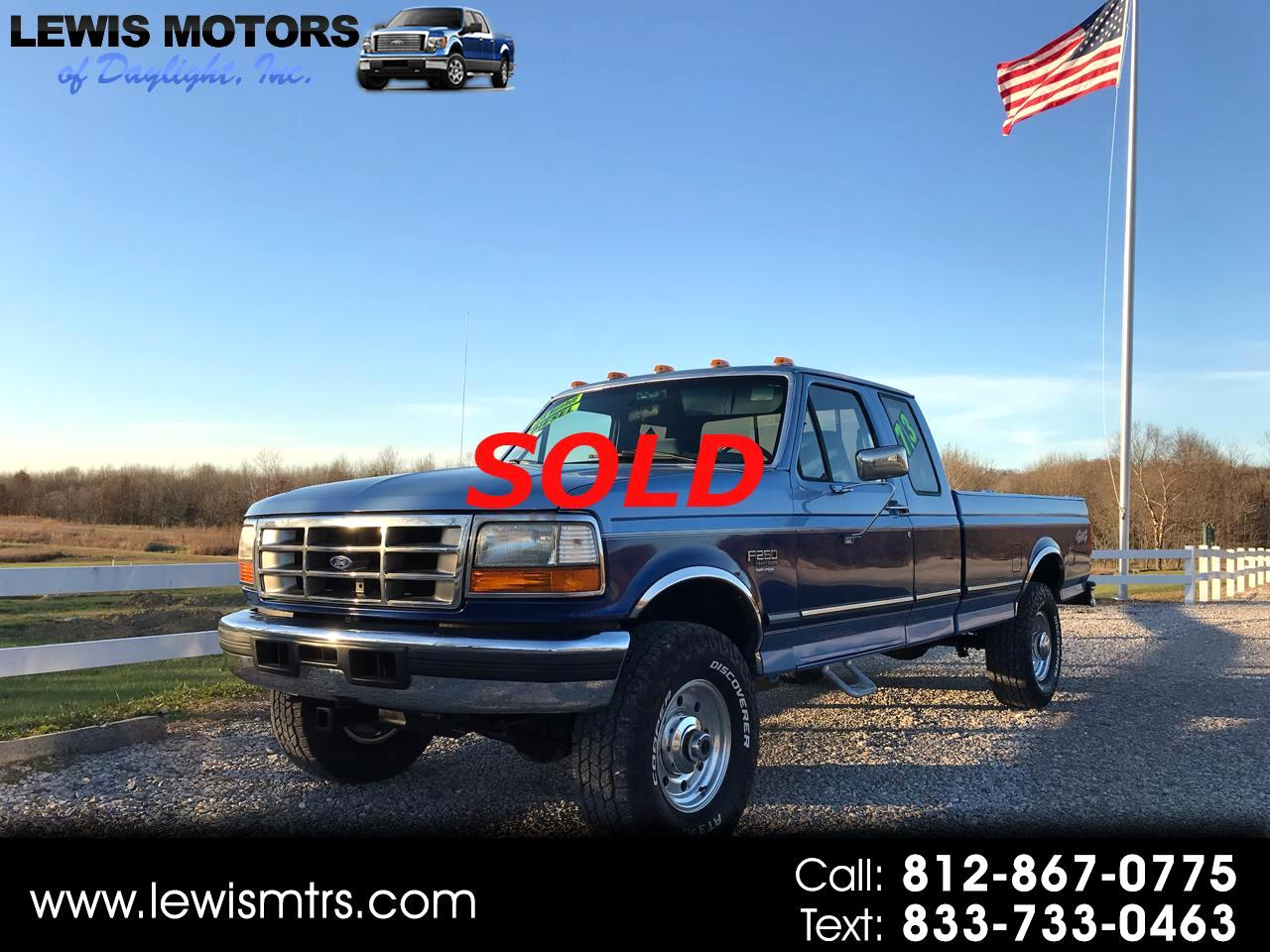 Ford F-250 LD SuperCab 4WD 1997