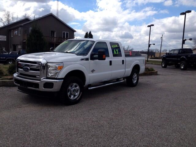 2014 Ford Super Duty F-250 CREW CAB XLT 4X4 6.75 FT BED