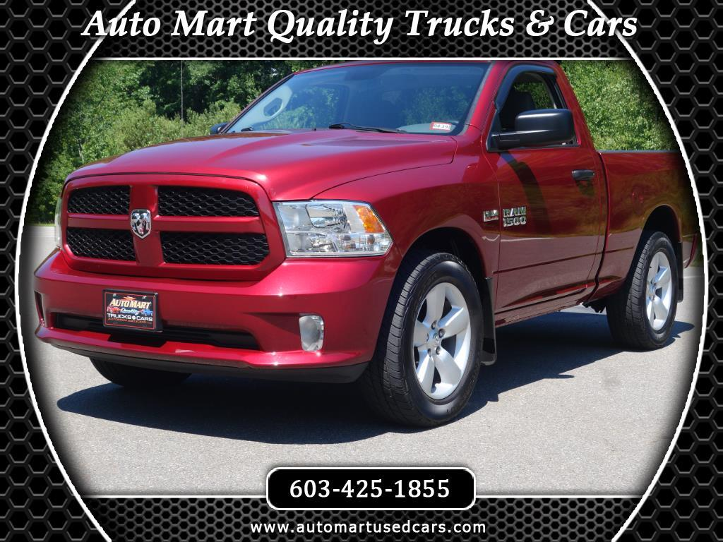 2013 RAM 1500 Regular Cab Short Wheel Base 4WD