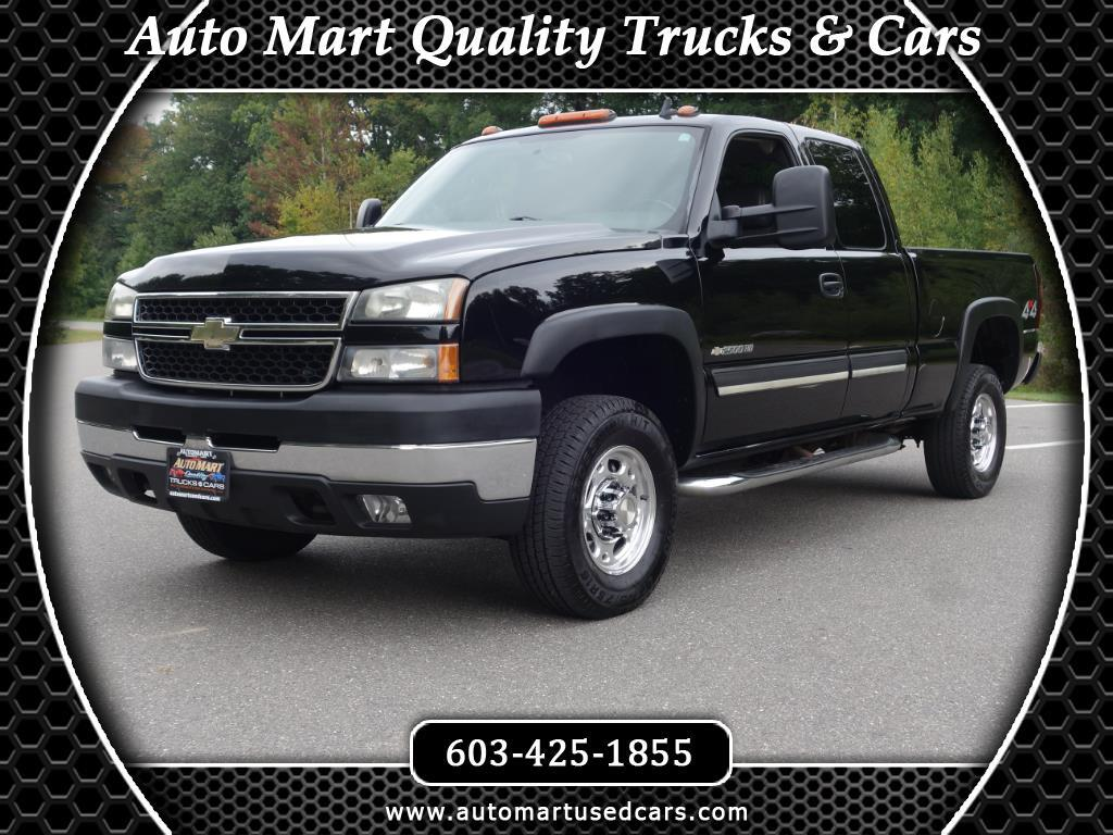 2006 Chevrolet Silverado 2500HD Ext Cab 143.5