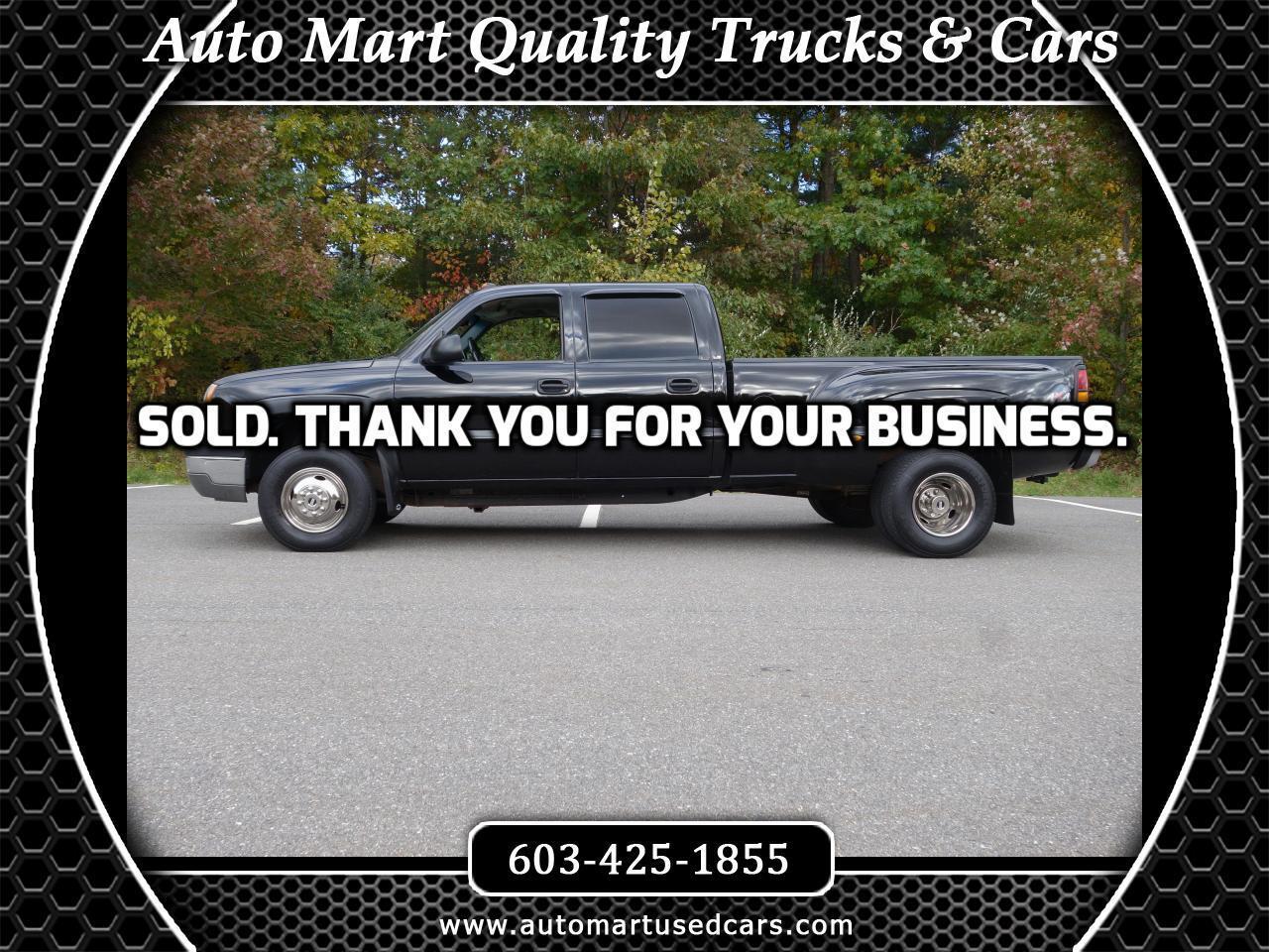 """2004 Chevrolet Silverado 3500 Crew Cab 167"""" WB 4WD DRW"""
