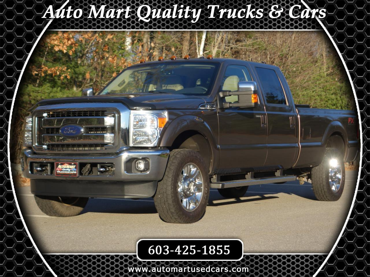 "2015 Ford Super Duty F-250 SRW 4WD Crew Cab 172"" Platinum"