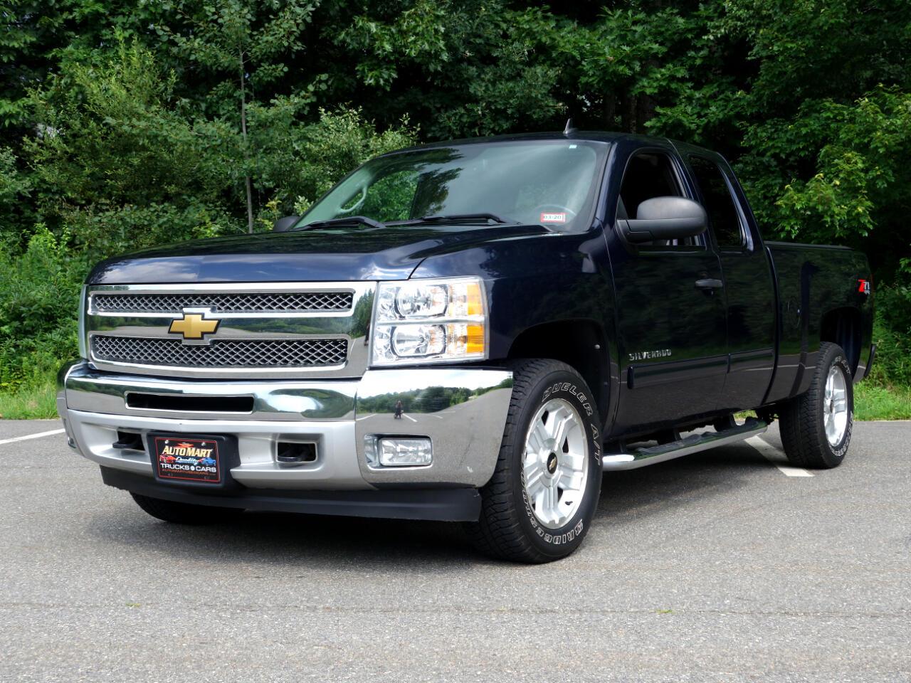 """2012 Chevrolet Silverado 1500 4WD Ext Cab 143.5"""" LT"""