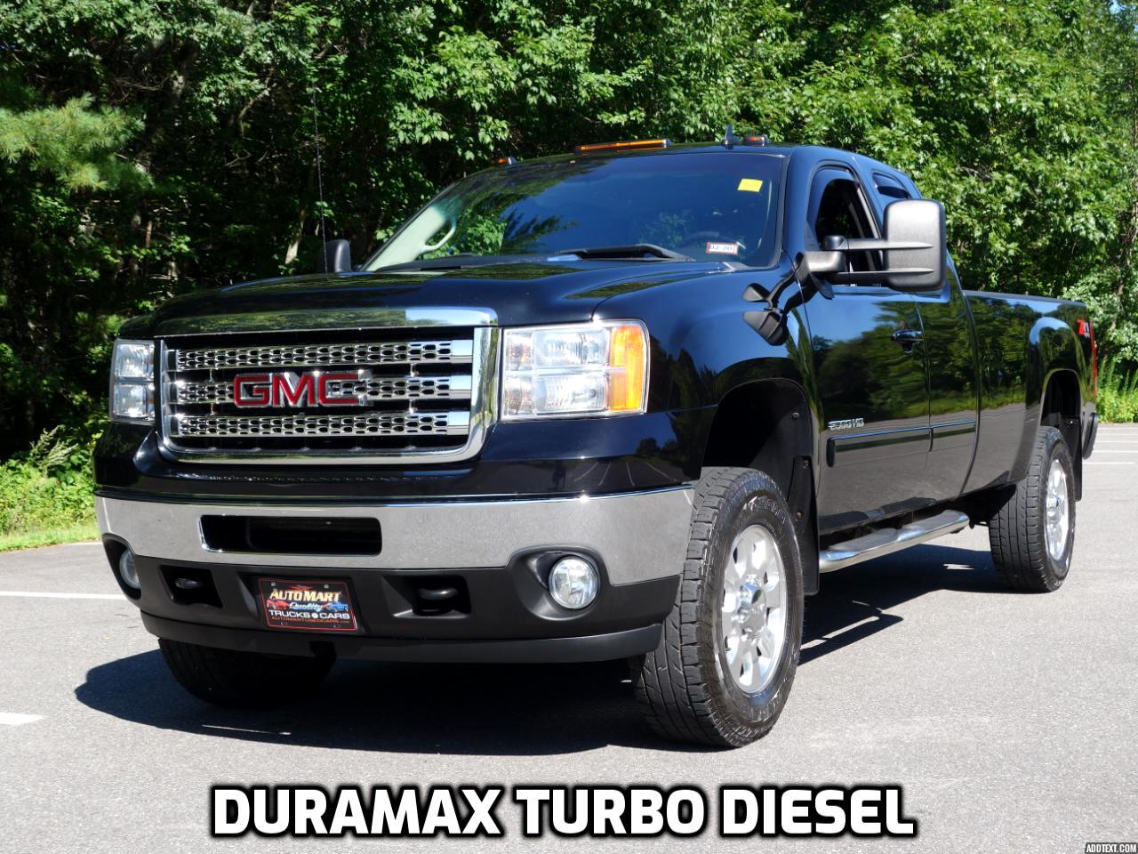 2012 GMC Sierra 2500HD 4WD Ext Cab 158.2