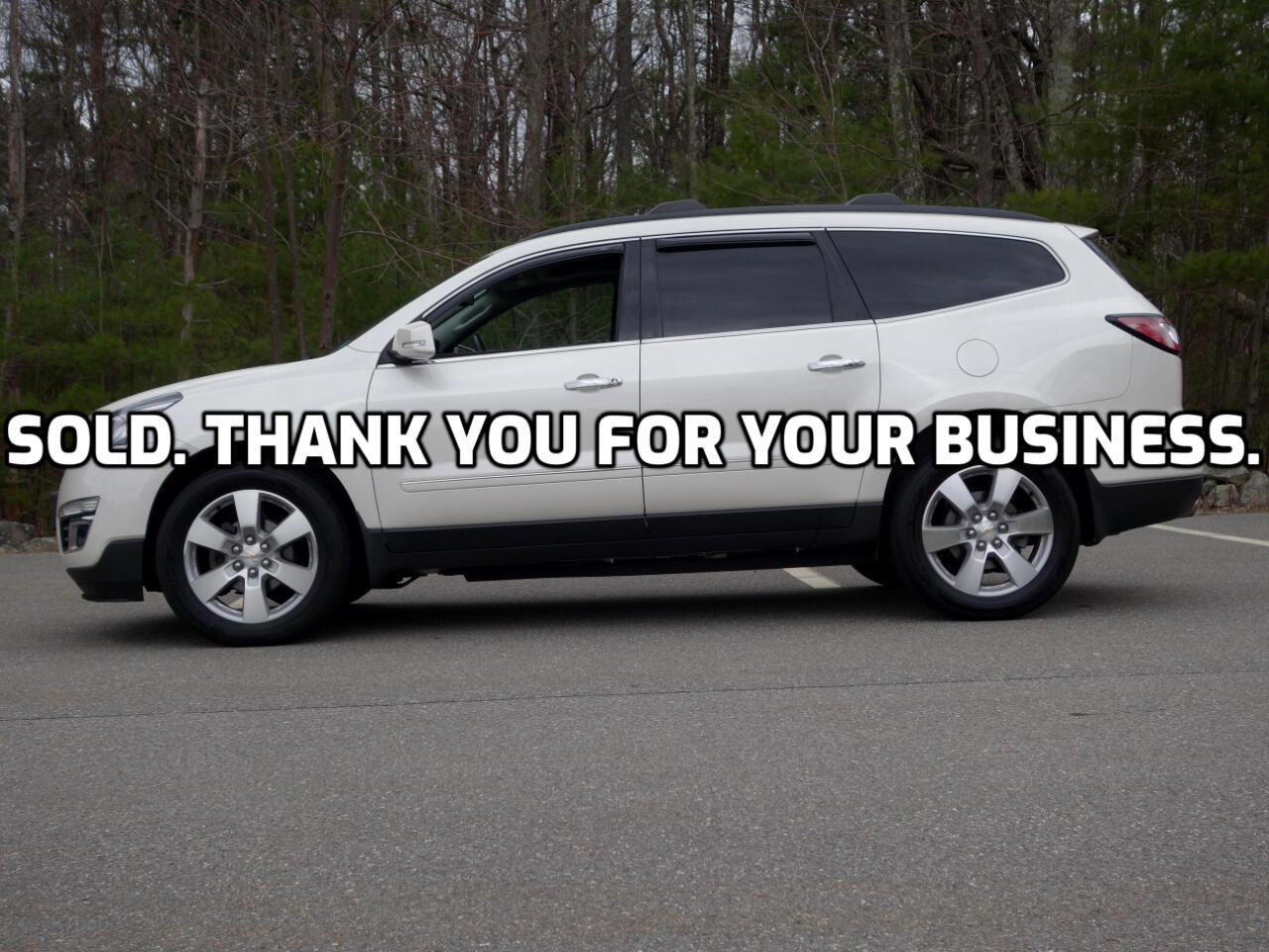 Chevrolet Traverse AWD 4dr LTZ 2015