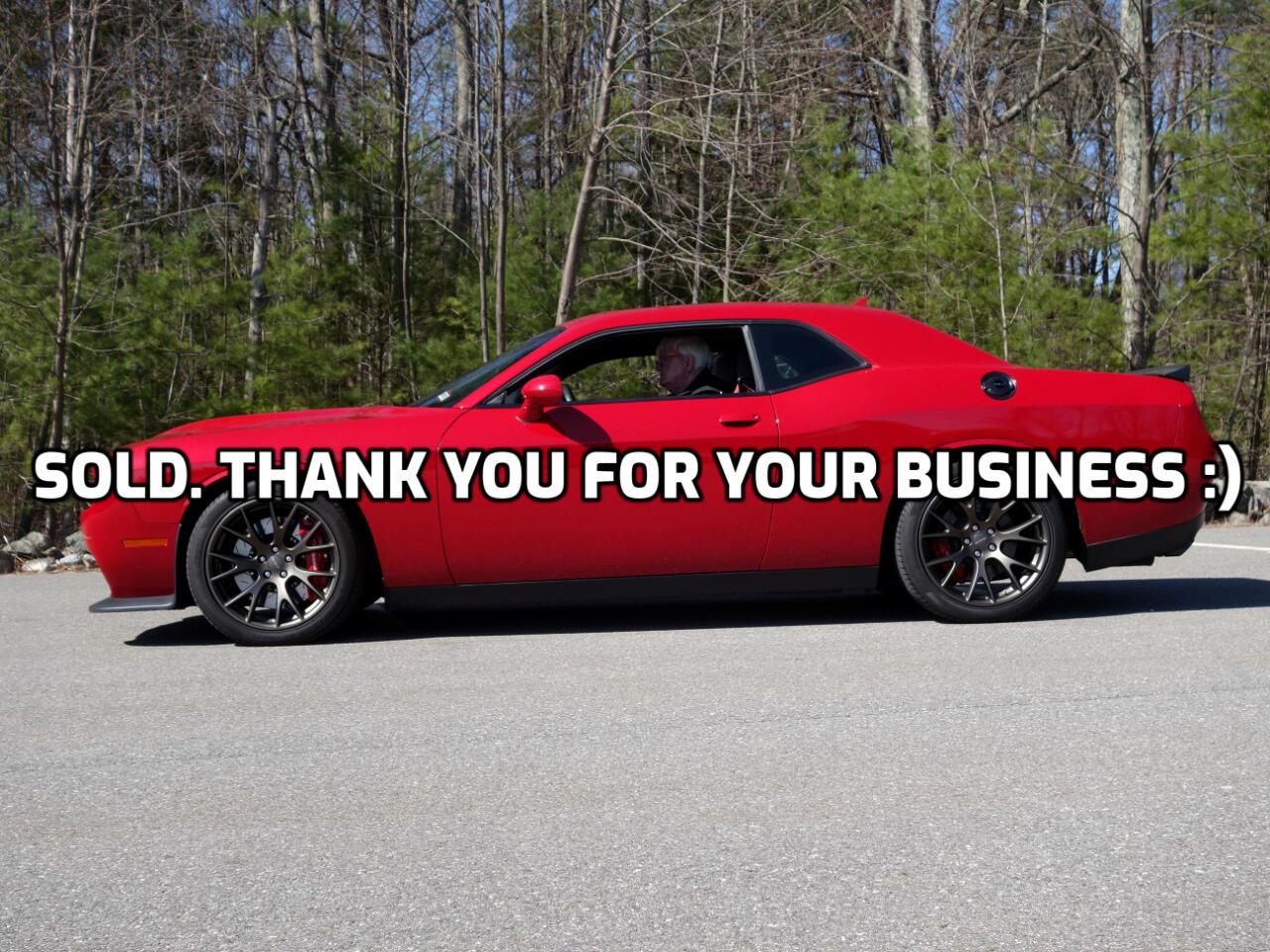 Dodge Challenger 2dr Cpe SRT Hellcat 2016