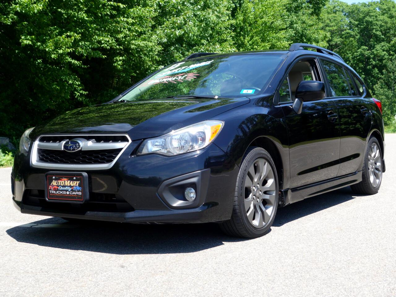 Subaru Impreza Wagon 5dr Auto 2.0i Sport Premium 2013