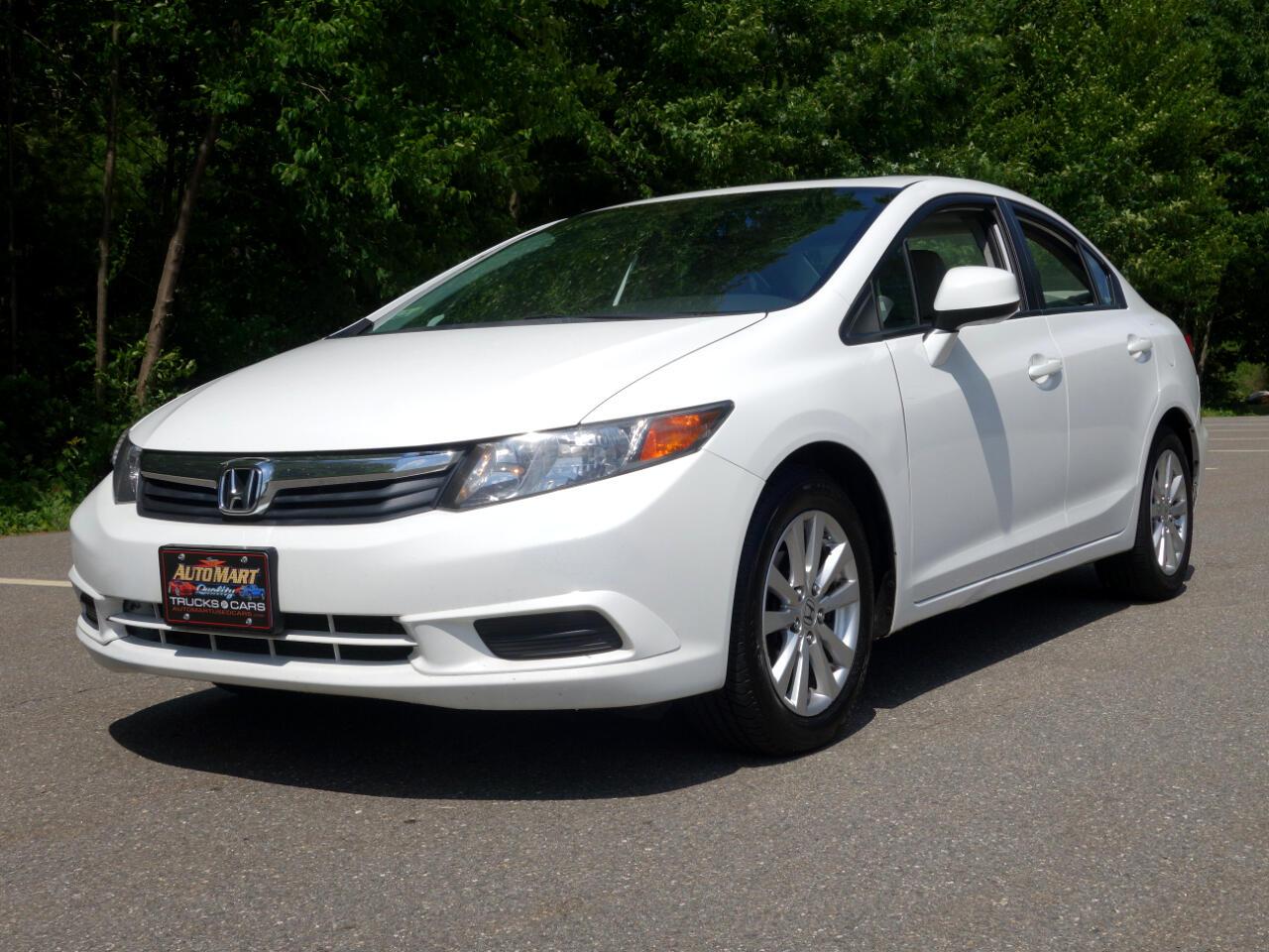 Honda Civic Sdn 4dr Auto EX-L 2012
