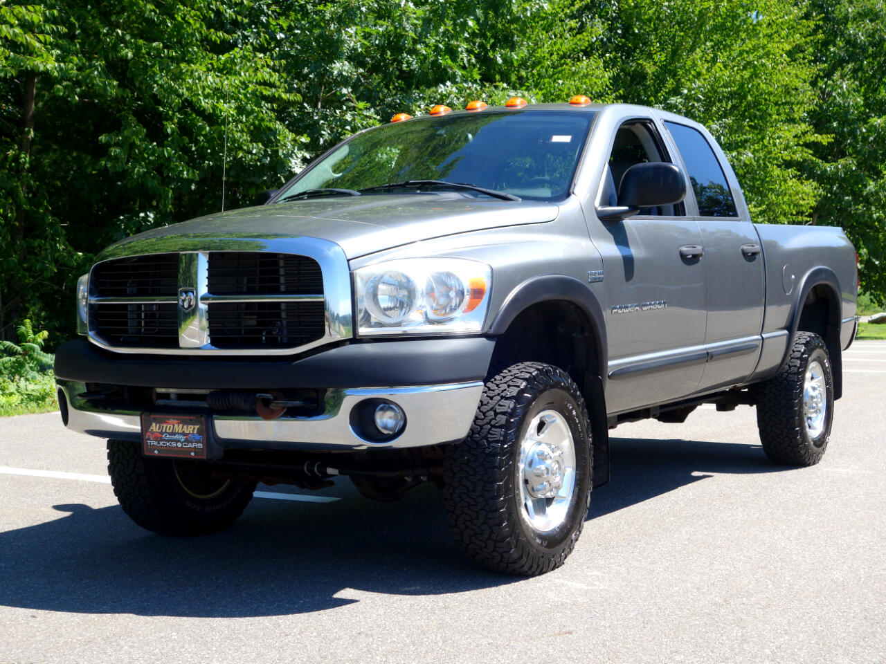 "Dodge Ram 2500 4WD Quad Cab 140.5"" Power Wagon 2009"