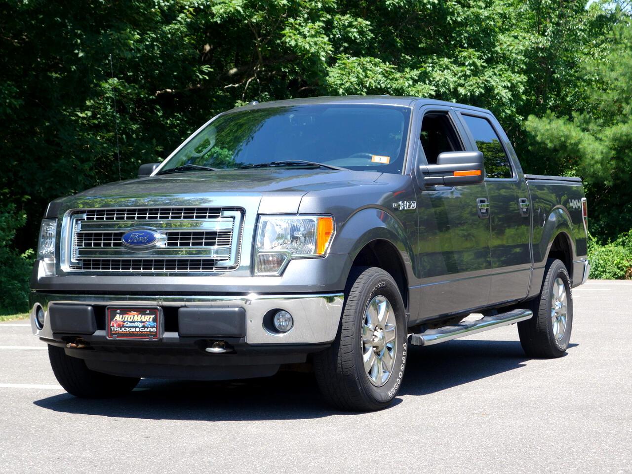 "Ford F-150 4WD SuperCrew 145"" XLT 2013"