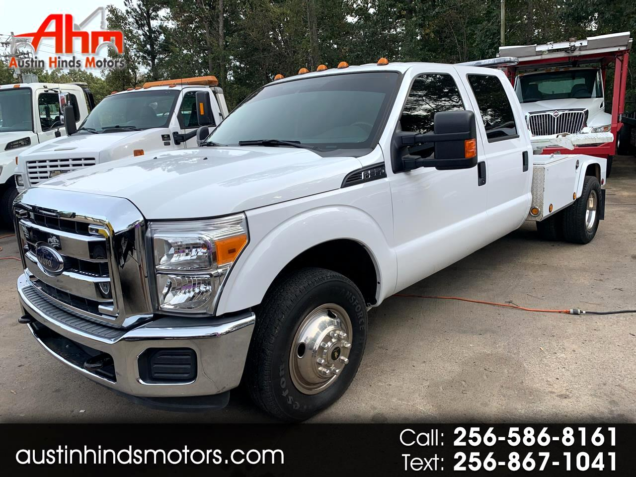 2014 Ford F-350 Crew Cab 4dr 168.4