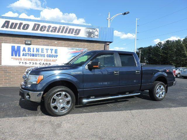 "2013 Ford F-150 4WD SuperCrew 145"" XLT"