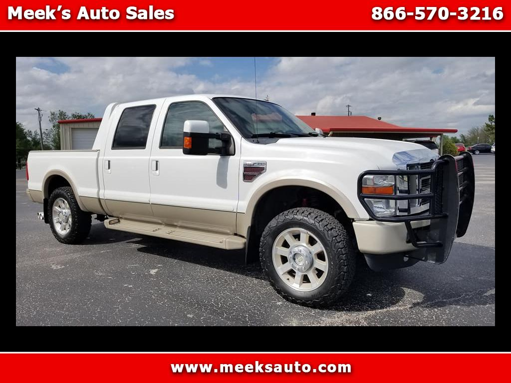 2009 Ford F-250 SD King Ranch Crew Cab Short Bed 4WD