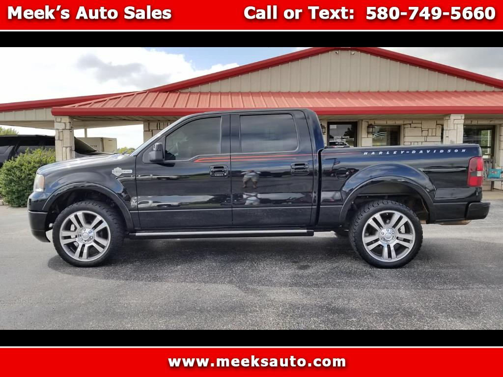 "2007 Ford F-150 AWD SuperCrew 139"" Harley-Davidson"