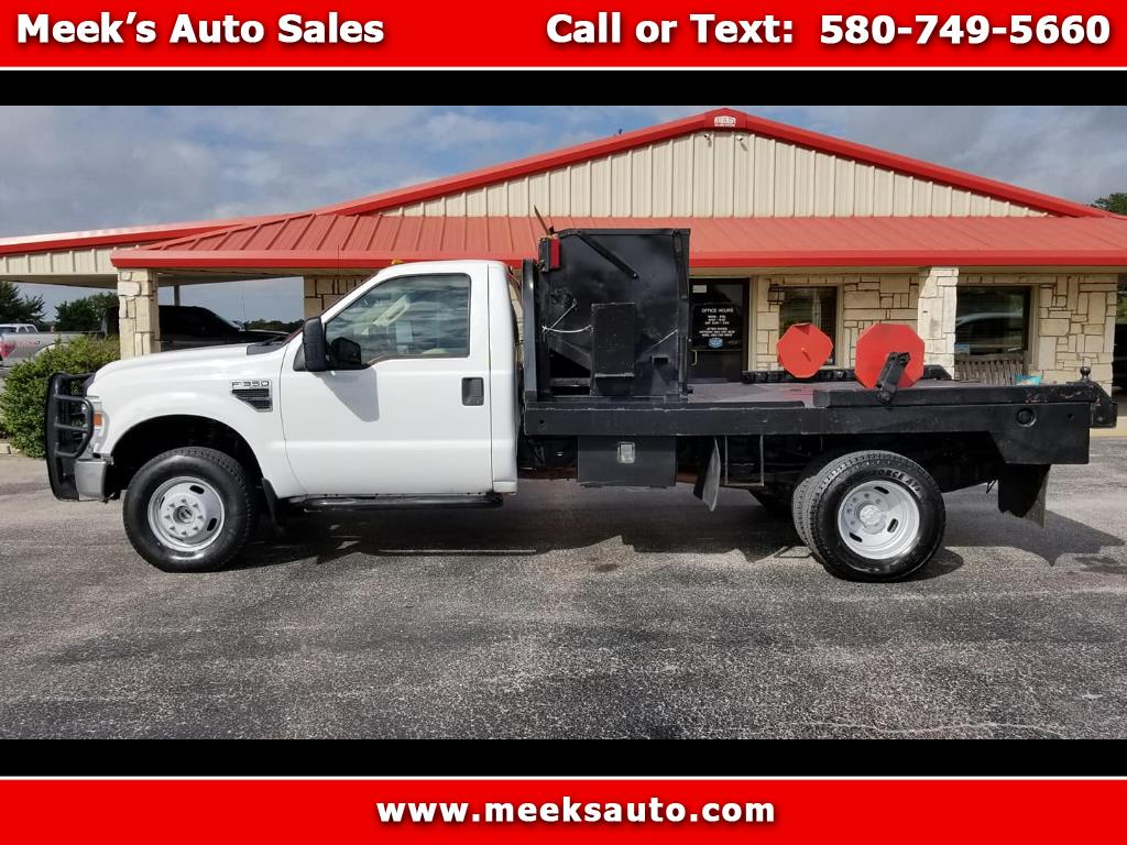 "2010 Ford Super Duty F-350 DRW 4WD Reg Cab 165"" WB 84"" CA XL"