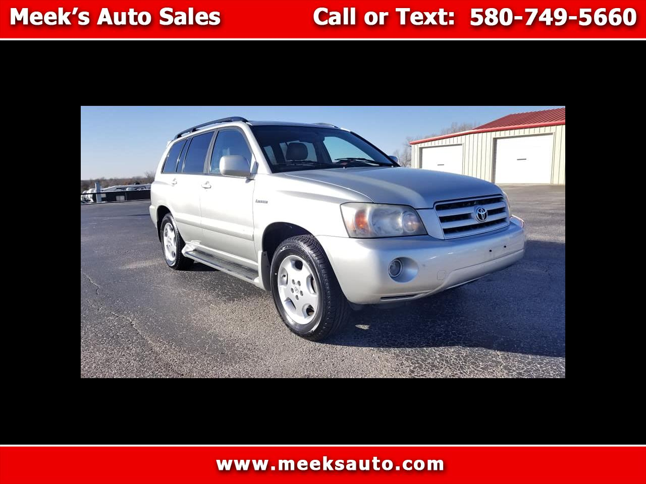 2004 Toyota Highlander 4dr V6 4WD Limited w/3rd Row (Natl)