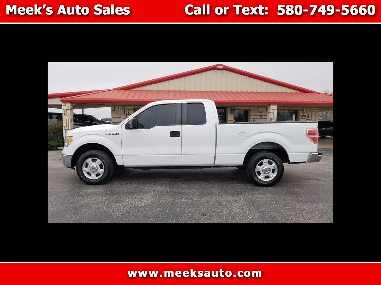 "2010 Ford F-150 2WD SuperCab 145"" XLT"
