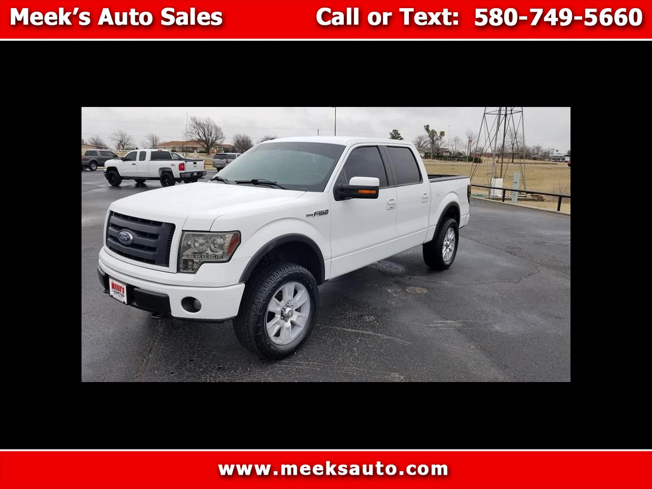 "2009 Ford F-150 4WD SuperCrew 145"" FX4"