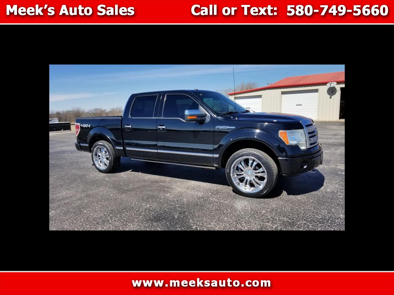 "2009 Ford F-150 4WD SuperCrew 145"" Platinum"