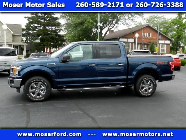 2018 Ford F-150 XLT SuperCrew Short Bed 4WD