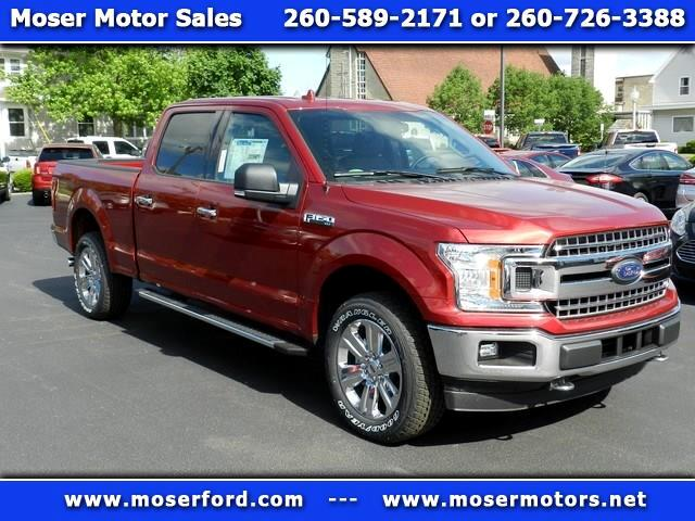 2018 Ford F-150 XLT SuperCrew 6.5-ft Box 4WD