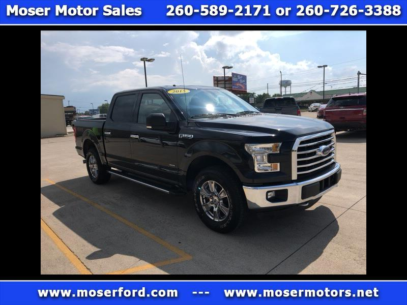 2015 Ford F-150 XLT 4x4 SuperCrew