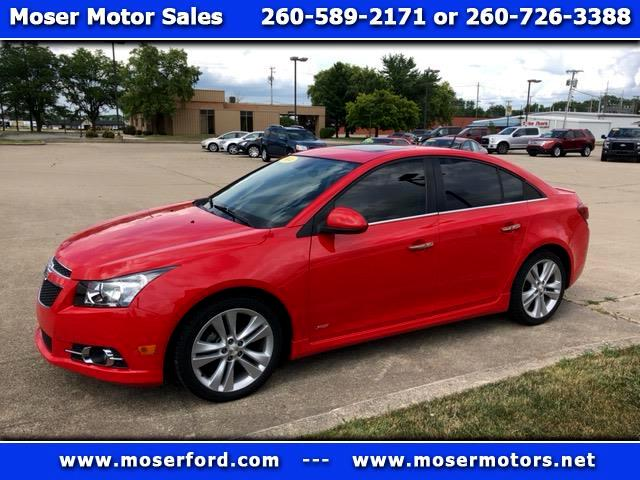 2014 Chevrolet Cruze LTZ with RS Package