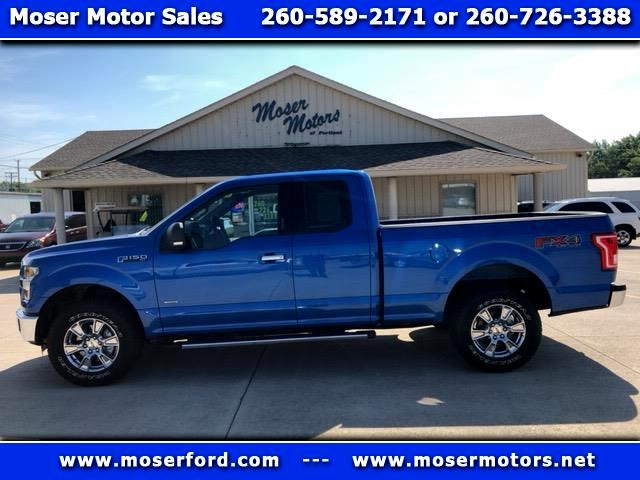"2015 Ford F-150 Supercab 145"" XLT 4WD"
