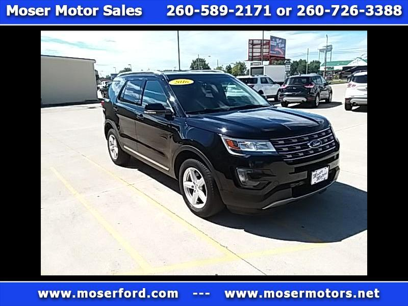 2016 Ford Explorer XLT 4-Door 4WD