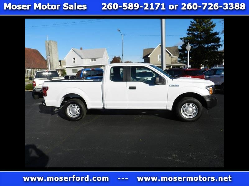 2018 Ford F-150 2WD SuperCab 145