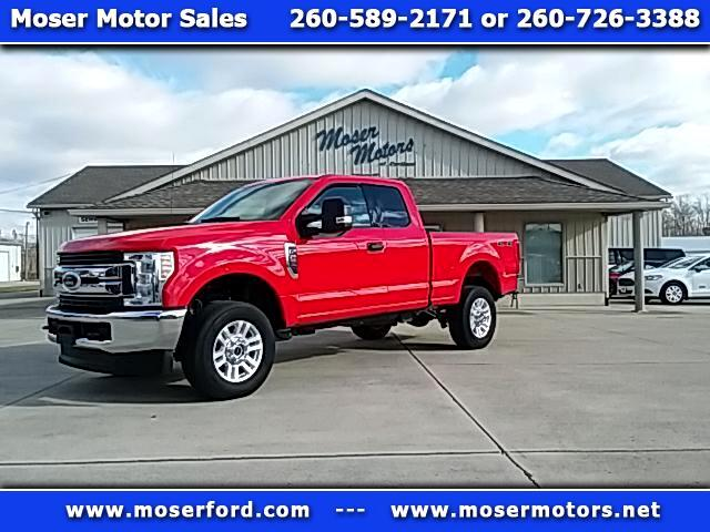 2018 Ford F-250 SD XLT SuperCab Styleside 4x4