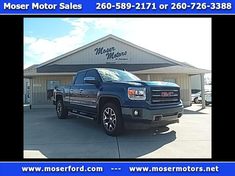 2015 GMC Sierra 1500 SLT  Double Cab All Terrain 4WD