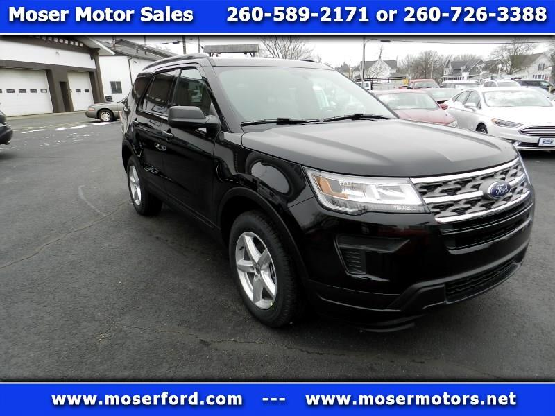 2019 Ford Explorer Base 4WD