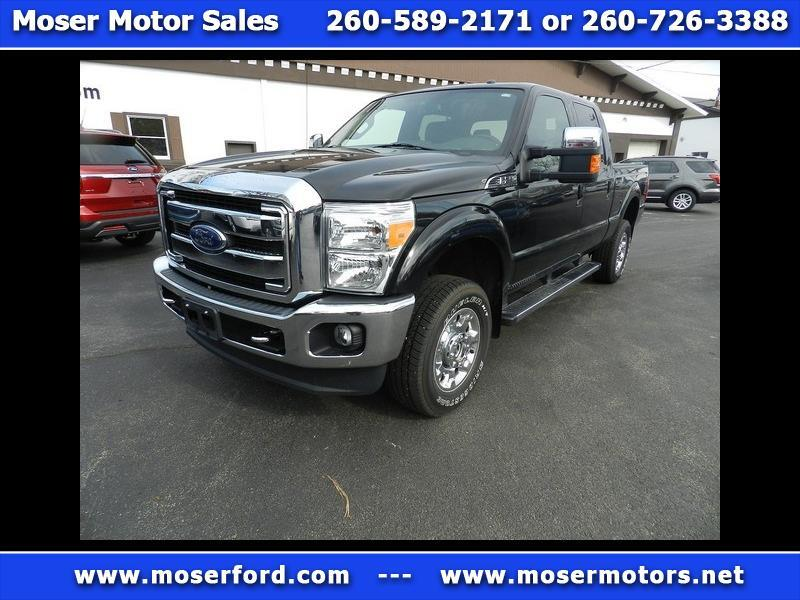 "2015 Ford F-250 SD Lariat Crew Cab 156"" WB Styleside"